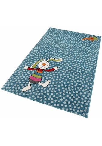 Kinderteppich, »Rainbow Rabbit«, Sigikid, rechteckig, Höhe 13 mm, maschinell gewebt kaufen