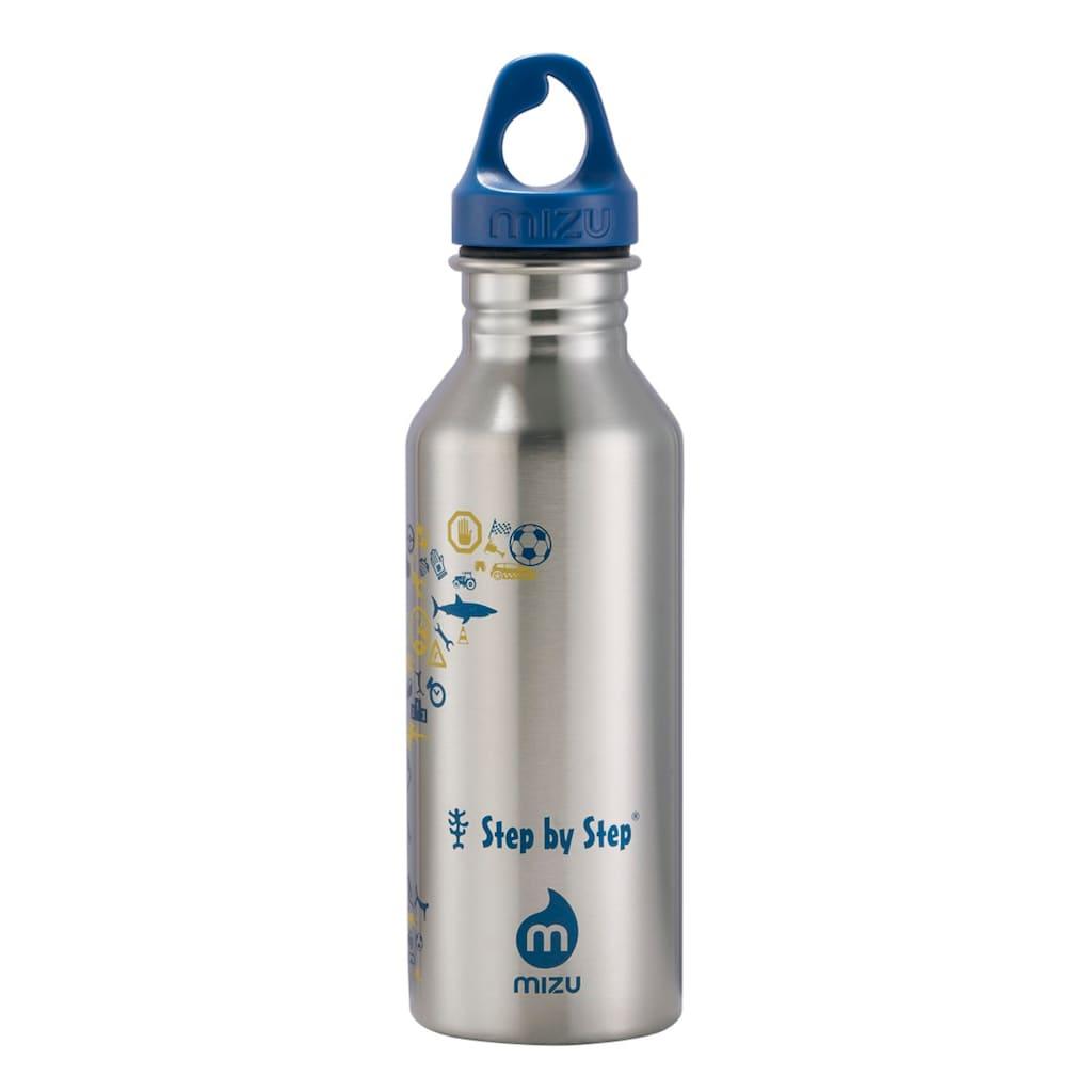 MIZU Trinkflasche, Blue & Yellow