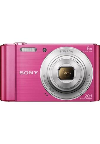 Sony Kompaktkamera »Cyber-shot DSC-W810«, Gesichtserkennung, Smile-Detection kaufen