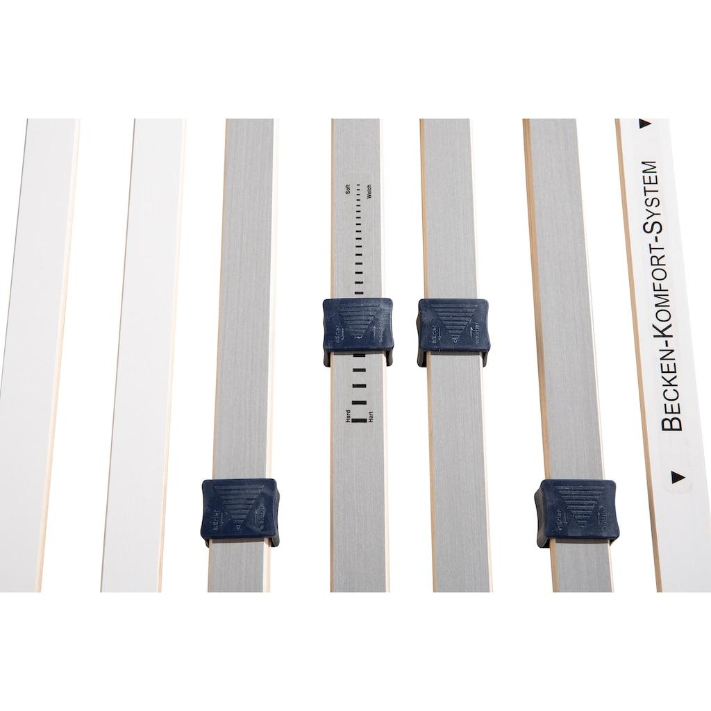 BeCo EXCLUSIV Lattenrost »Perfekta 200«, (1 St.), extra stabil bis 200kg, mit Härteverstellung
