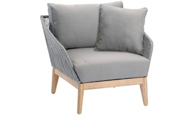 Best Loungesessel »Lounge Sessel Samos Grandis«, Eucalyptus, inkl. Auflagen kaufen