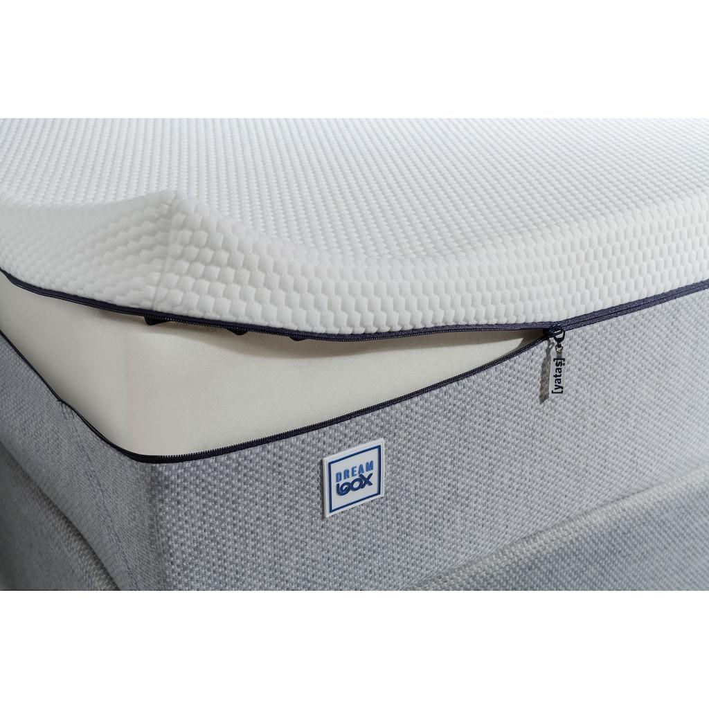Yatas Taschenfederkernmatratze »Dream Box Roll PRO«, 26 cm cm hoch, 416 Federn, (1 St.), 3 Härten System-Feder, unterstützt jede Körperform bis 120 kg