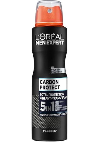 L'ORÉAL PARIS MEN EXPERT Deo-Spray »Carbon Protect Anti-Transpirant«, mit 48H... kaufen