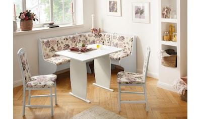Home affaire Eckbankgruppe »Minden 3«, (Set, 4 tlg.), im rustikalen Landhausstil kaufen