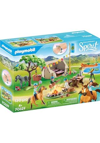 Playmobil® Konstruktions-Spielset »Sommercamp (70329), Spirit Riding Free«, (130 St.),... kaufen