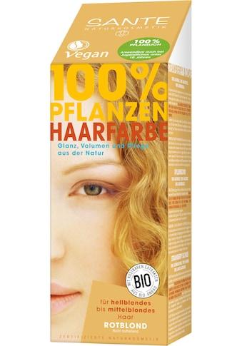 SANTE Haarfarbe »Pflanzenhaarfarbe rotblond« kaufen