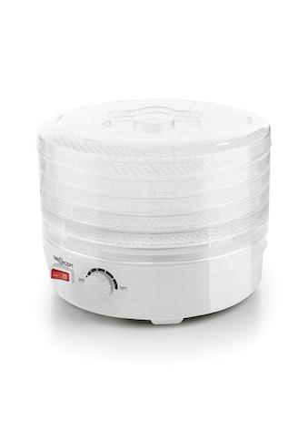 ONECONCEPT Dörrautomat 5 Etagen Dehydrator 250 Watt weiß »Bonsai« kaufen