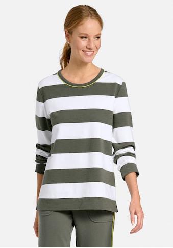 MYBC Sweatshirt »cotton«, und Kontrastnaht kaufen