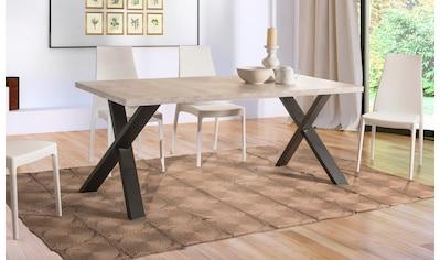 Home affaire Esstisch »Genova«, mit einer 4 cm starke Tischplatte, im hochwertigen... kaufen