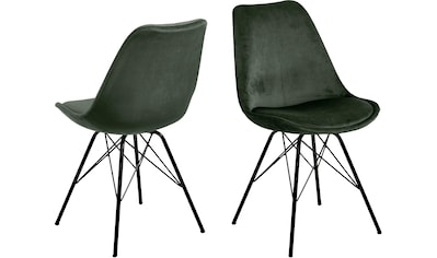 andas Esszimmerstuhl »Edel«, 2er Set, in zwei verschiedenen Bezugsqualitäten und weiteren Farbvarianten, Sitzhöhe 49 cm kaufen