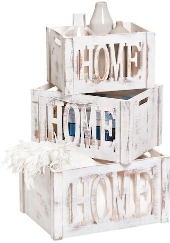Zeller Present Aufbewahrungsbox »Home« kaufen