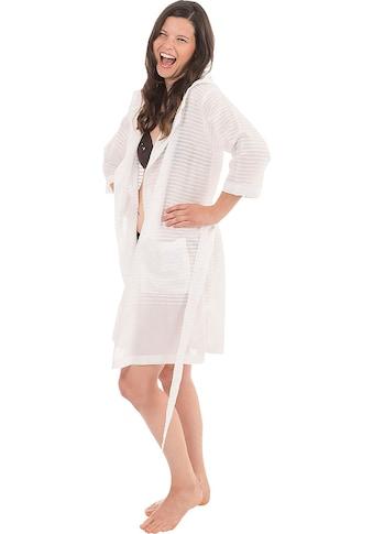 Wewo fashion Damenbademantel »6352«, aus leichtem Pestemal kaufen