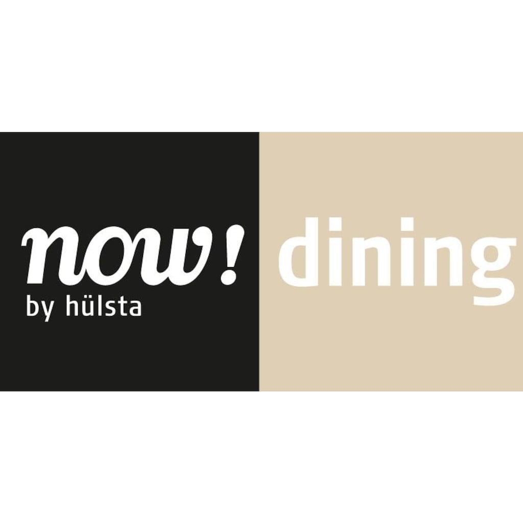 now! by hülsta Esstisch »ET 19«, in zwei Breiten, Untergestell aus Metall weiß