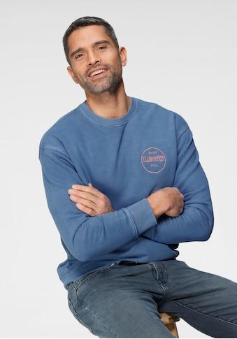 Levi's® Sweatshirt »RELAXED T2 GRAPHIC CREW«, mit Logofrontprint kaufen