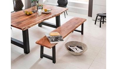 Premium collection by Home affaire Sitzbank »Manhattan«, mit Baumkantenoptik und... kaufen
