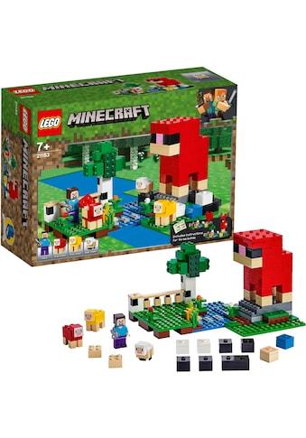 LEGO® Konstruktionsspielsteine »Die Schaffarm (21153), LEGO® Minecraft™«, (260 St.),... kaufen