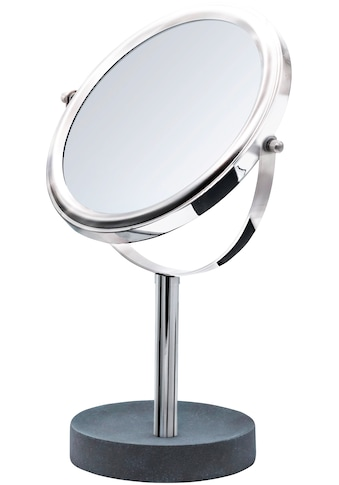 RIDDER Kosmetikspiegel »Cement«, Standspiegel, 5x Vergrößerung kaufen