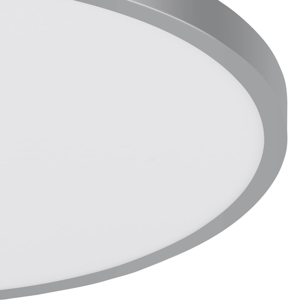 EGLO Aufbauleuchte »FUEVA 1«, LED-Board, 1 St., Warmweiß, schlankes Design, nur 3 cm hoch, Durchmesser 40 cm