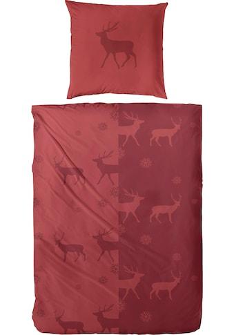 Primera Bettwäsche »Yuna«, mit Hirschen kaufen