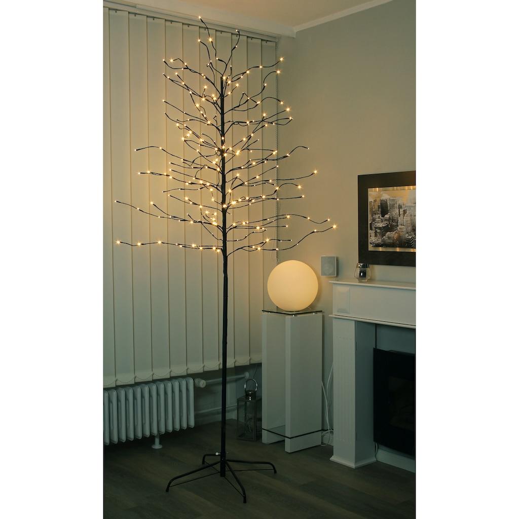 LED Baum, Warmweiß, 240 cm mit Standfuß