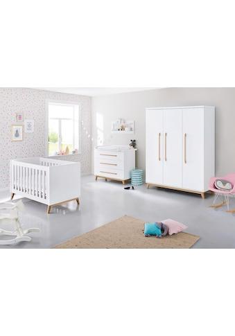 Pinolino® Babyzimmer-Komplettset »Riva«, (Set, 3 St.), breit groß; mit Kinderbett,... kaufen