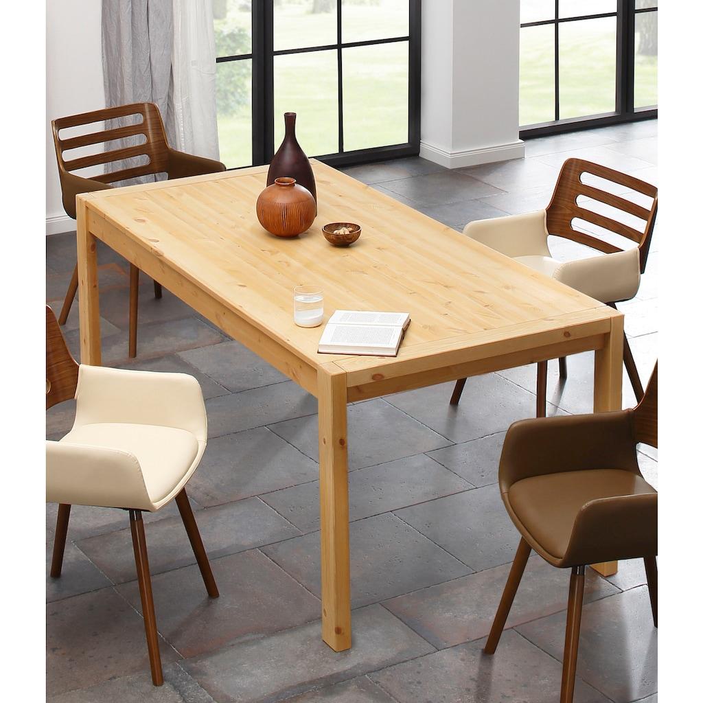 Home affaire Esstisch »Ella«, aus massivem Kiefernholz, in unterschiedlichen Tischbreiten erhältlich