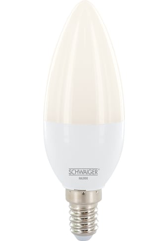 Schwaiger LED Lampe E14 dimmbar -smarte LED- Glühbirne RGBW »Multicolor Lichtsystem« kaufen