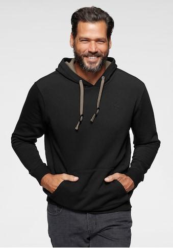 Man's World Kapuzensweatshirt, mit Kontrast- Details kaufen