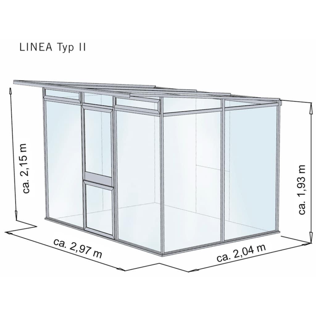 KGT Gewächshaus »Linea II«