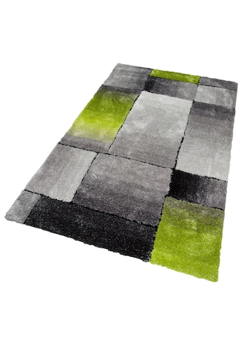 Hochflor - Teppich, »Fajola«, my home, rechteckig, Höhe 30 mm, handgetuftet kaufen