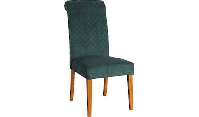 Home affaire Esszimmerstuhl »Rysum«, 2er-Set, mit gepolsteter Sitzfläche, und... kaufen