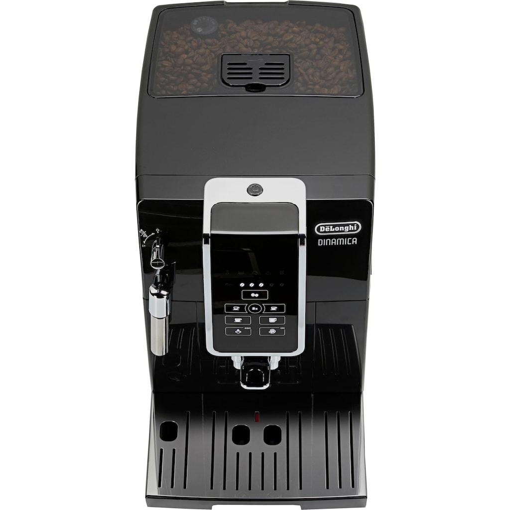 De'Longhi Kaffeevollautomat Dinamica ECAM 358.15.B, 1,8l Tank, Kegelmahlwerk