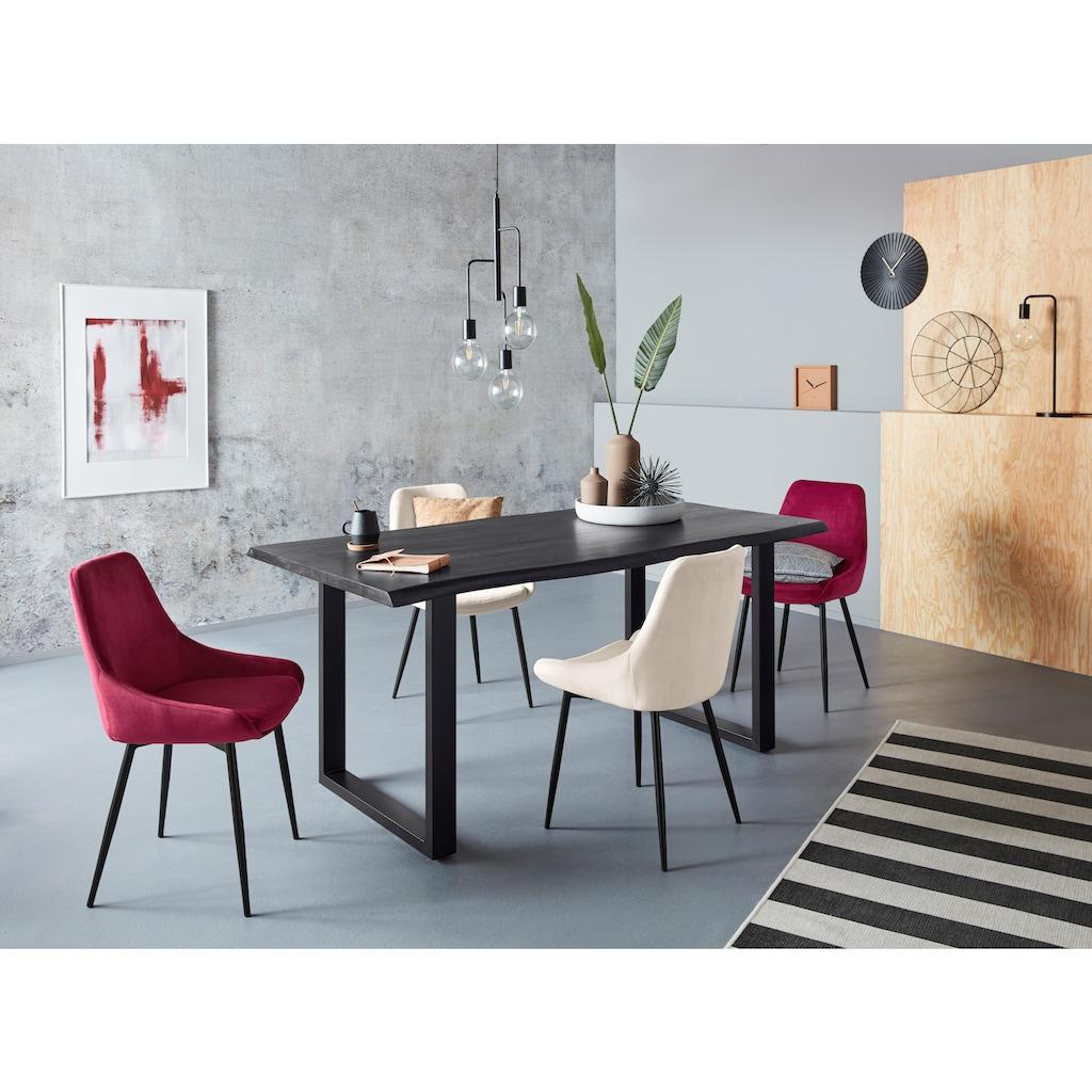 SIT Esstisch »Tops&Tables«, mit Tischplatte aus Akazie, mit Baumkante