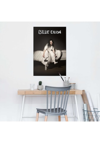Reinders! Poster »Poster Billie Eilish When We All Fall Asleep, Where Do We Go?«,... kaufen