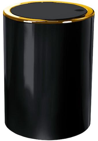 Kleine Wolke Kosmetikeimer »Golden Clap«, hochwertiger Schwingdeckeleimer kaufen