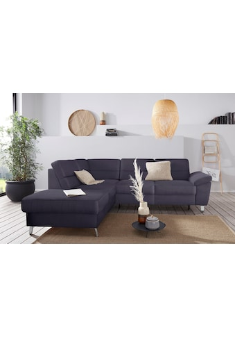 sit&more Ecksofa, wahlweise mit Bettfunktion und Bettkasten kaufen