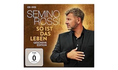 Musik-CD »So ist das Leben (Geschenk-Edition) / Rossi,Semino« kaufen