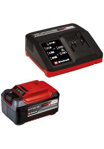 Einhell Akku »PXC-Starter-Kit 5,2Ah & 4A Fastcharger«, 5200 mAh, 18,0 V kaufen