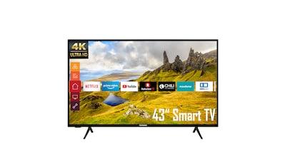 "Telefunken LED-Fernseher »XU43K521«, 108 cm/43 "", 4K Ultra HD, Google TV-Smart-TV kaufen"