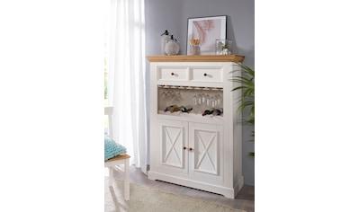 Premium collection by Home affaire Barschrank »Marissa«, aus Massivholz kaufen