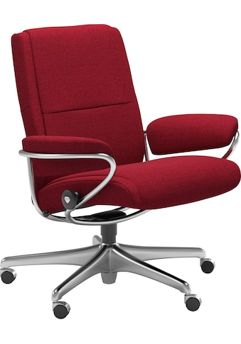 Stressless® Relaxsessel »Paris«, Low Back, mit Home Office Base, Gestell Chrom kaufen