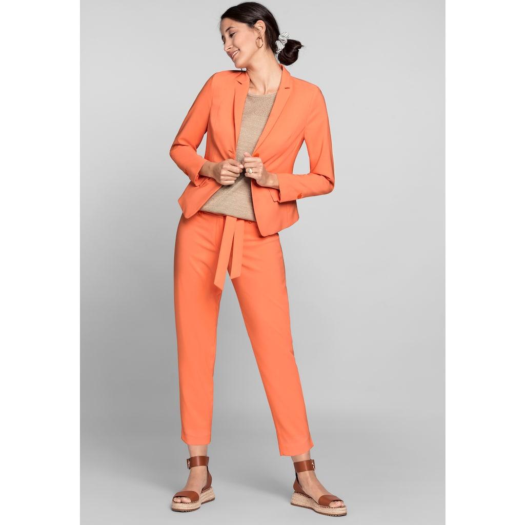 bianca Kurzblazer »CELESTE«, in der stylischen Trendfarbe