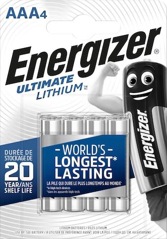 Energizer Batterie »Ultimate Lithium Micro (AAA) 4 Stück« kaufen
