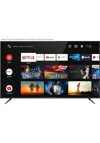 "TCL LED-Fernseher »75P616«, 189 cm/75 "", 4K Ultra HD, Smart-TV, Android 9.0... kaufen"