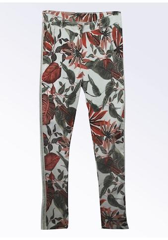 Heimatliebe Jeans mit Blumendruck kaufen