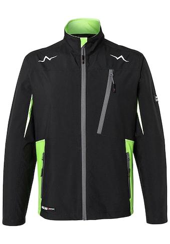Kübler Softshelljacke »KÜBLER PULSE Ultrashell-Jacke; schwarz neongrün«, schwarz neongrün kaufen