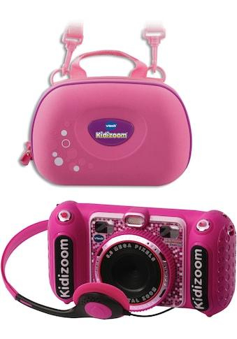 Vtech® Kinderkamera »KidiZoom Duo DX, pink«, inkl. Tragetasche kaufen