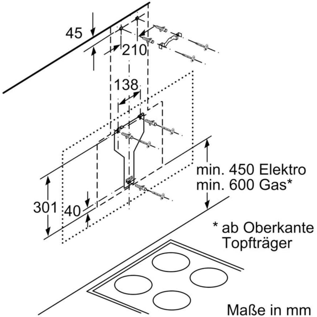SIEMENS Kopffreihaube »LC87KHM60«, Serie iQ300