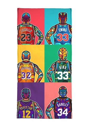 "Handtuch ""NBA Legends"", Juniqe kaufen"