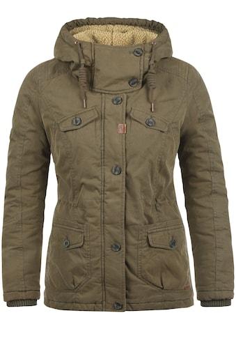 DESIRES Winterjacke »Lewana«, warme Jacke mit Teddyfutter kaufen